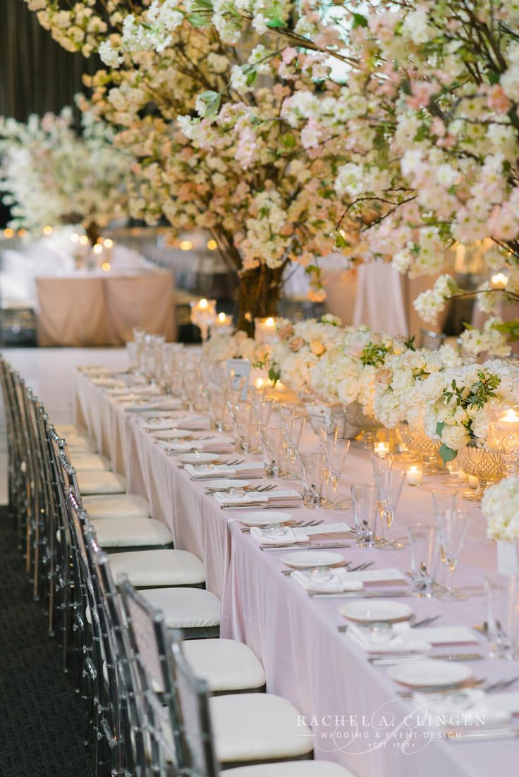 337 best beautiful wedding receptions images on pinterest wedding custom cherry blossom trees for centrepieces by rachel a clingending flowers junglespirit Gallery