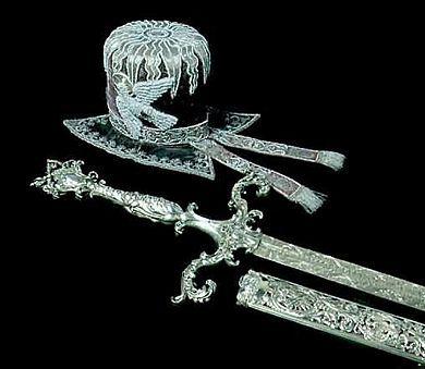 Jan III Sobieski, Miecz poświęcany od papieża Innocentego III
