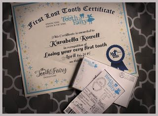 Lucky7s Studio: Free Printable Tooth Fairy Receipt and Certificate