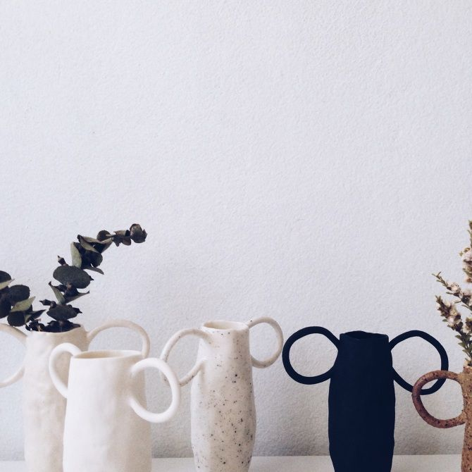 Ceramics by Tara Burke.   Available end of April.