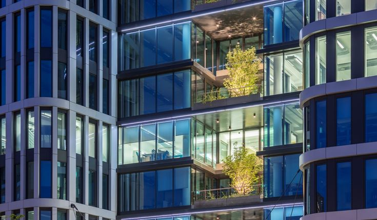 Nimbus Office Tower, Warsaw-Poland, design Bose International Planning & Architecture