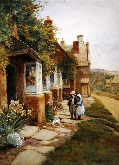 Arthur Claude Strachan - Broadway - The Puppy