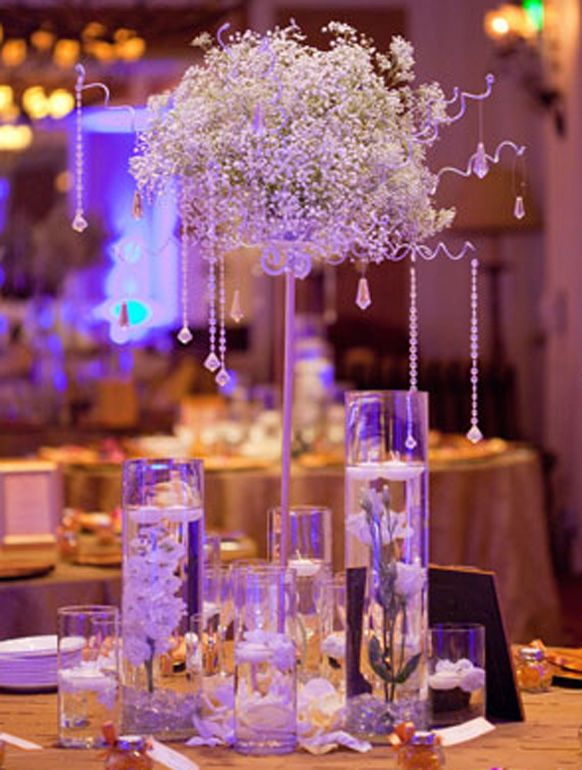Stylish Baby's Breath Weddings | Weddings Romantique... or just get Sweeps to help with your wedding! http://www.sweeps.jobs