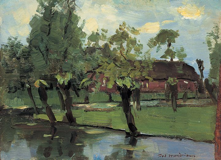 Ферма у протоки Пит Мондриан 1903,