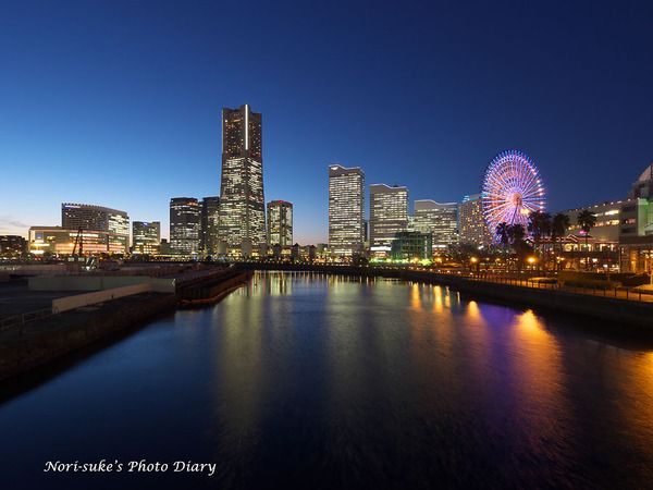 万国橋の夜景が綺麗!万国橋の見所。