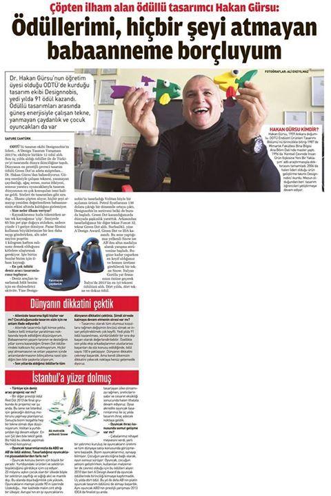Sabah Gazetesi / Dr.Hakan Gürsu - Designnobis