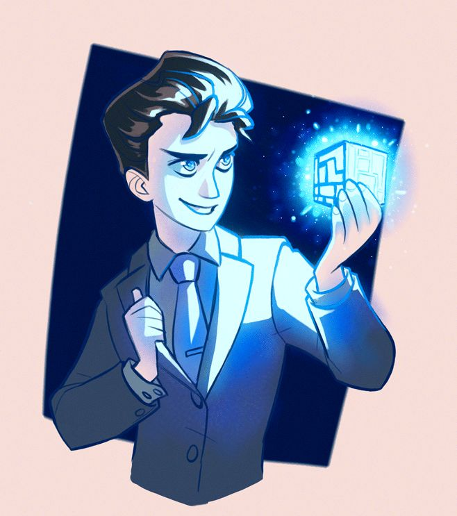 Some Artemis Fowl fan art B)