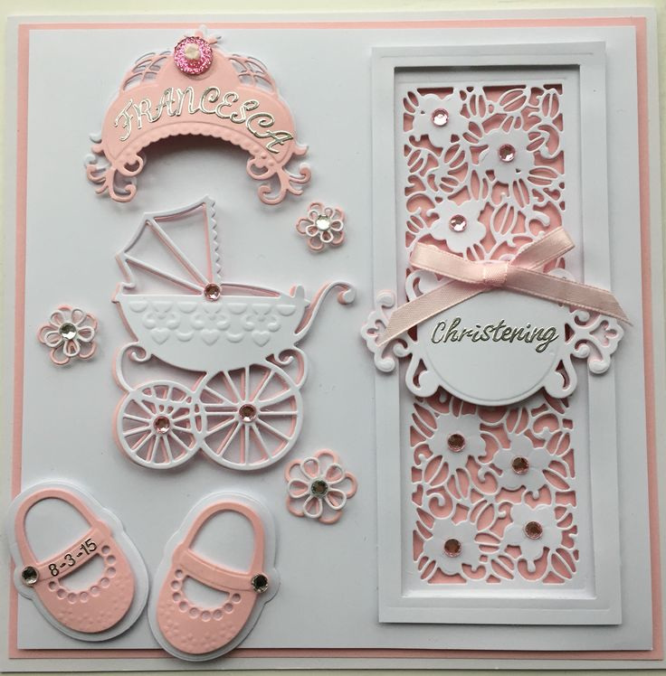 Christening Card Ideas To Make Part - 19: Christening Card By Sospecial Cards. Sue Wilson And Marianne Dies