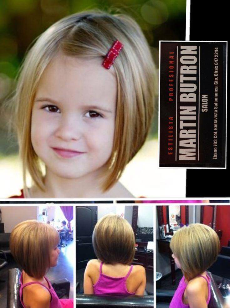 Corte de cabello de mujer y niña
