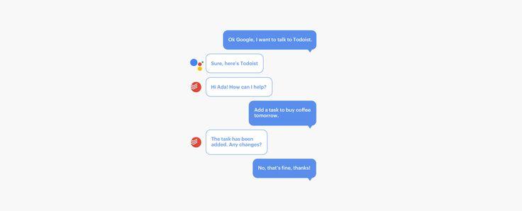 Todoist désormais intégré à Google Assistant. #digital