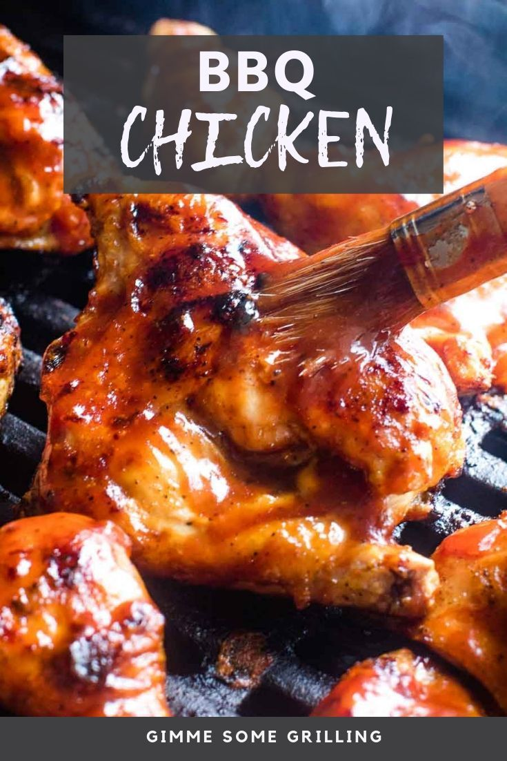 Homemade Bbq Chicken On Your Grill That S Juicy And Delicious With A Caramelized Bbq Sauce From Be Bbq Chicken Recipes Grilled Chicken Recipes Best Bbq Chicken