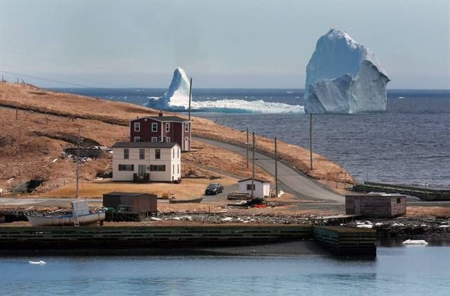 """""""The iceberg has been a drawing card for us,"""" say the people of Ferryland, N.L."""