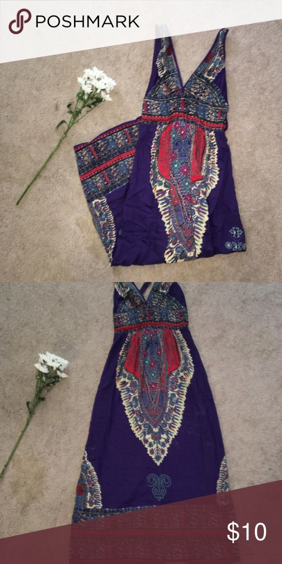 Beautiful purple festival dress Beautiful purple festival dress  Soft and silky material perfect for festival or for every day use Dresses Maxi