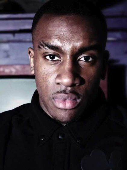 The close up shot is a type of shot id like to recreate with my model looking directly at the camera just like this grime artist is.