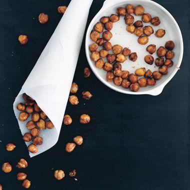 Crispy Cinnamon Garbanzo Beans