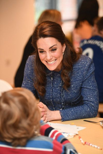 Catherine, Duchess of Cambridge visits the Ronald McDonald House Evelina in Lambeth to open the 'home away from home' accommodation for the families of children being treated at Evelina London Children's Hospital on February 28, 2017 in London, England.