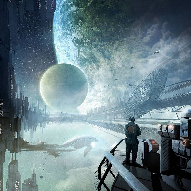 """Asylum"" by #AlexanderPreuss.  #sciencefiction #scifi"