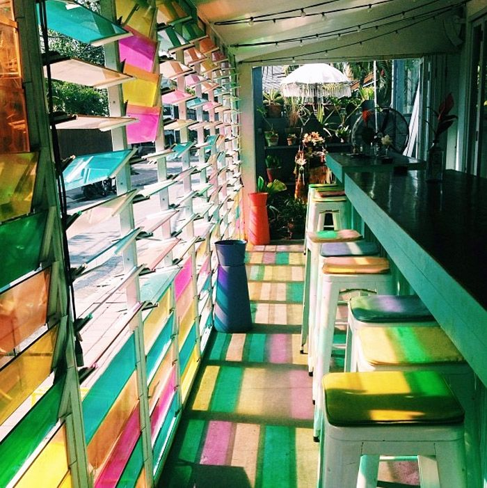 Coloured Shutters - yes please!  Bright-lights-Sea-Circus Bali