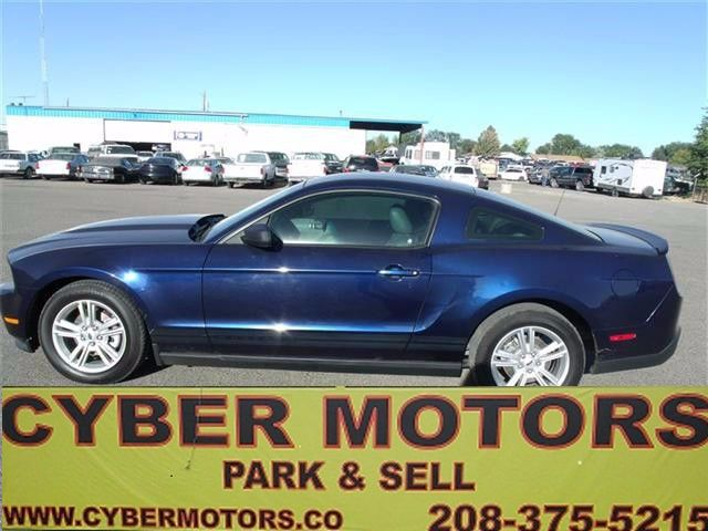 Used 2010 Ford Mustang V6 Coupe for Sale in Boise ID 83709 Cyber Motors
