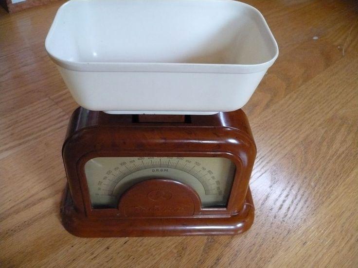 Waage Küchenwaage Dr. Oetker, D.R.G.M., Bakelit, Art Deco, 20er/30er Jahre   | eBay