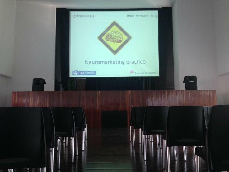 Todo listo para la Jornada de Neuromarketing Práctico en Institución Universitaria Esumer (Campus Robledo) de Medellin