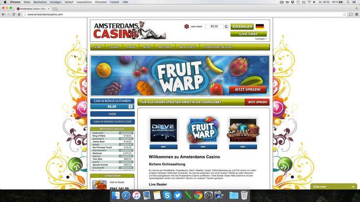 Amsterdams Casino Testbericht: Anmeldung & Einzahlung erklärt [4K]