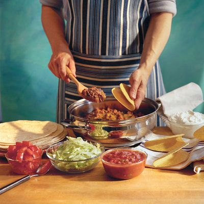 Easy Skillet Tacos - 36 Quick Ground Beef Recipes - Southern Living