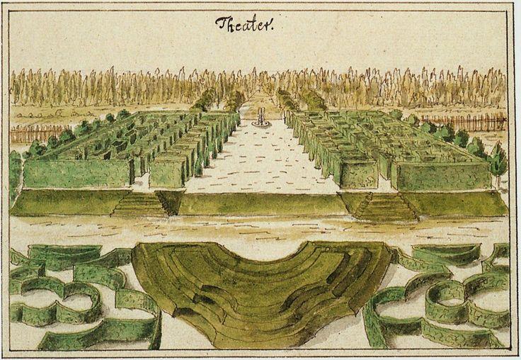 Erlangen Schlossgarten Johann Baptist Homann um 1720 002