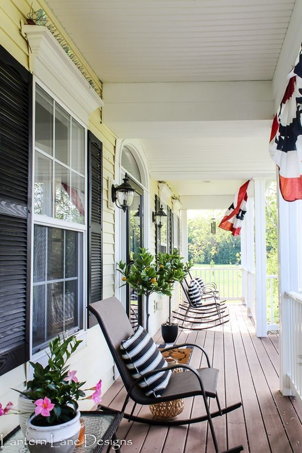 Front Porch Ideas For Summer Affordable Home Decor Diy Home