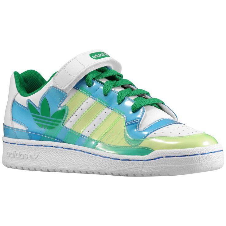 n2sneakers - adidas Originals Forum Lo XL Boys' Preschool  White/Fairway/Bluebird,