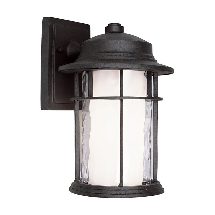 Found it at wayfair modell 1 light outdoor wall lantern in rust