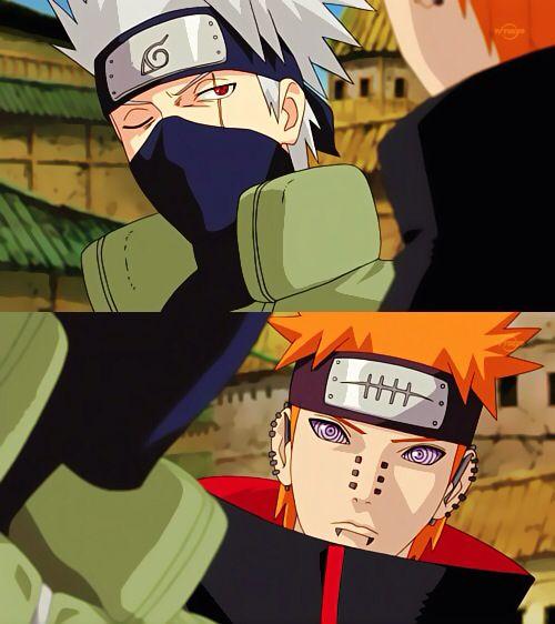Kakashi vs Pain
