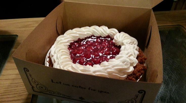 Cherry Cheesecake Pie - Frontier Pies Restaurant in Rexburg, ID