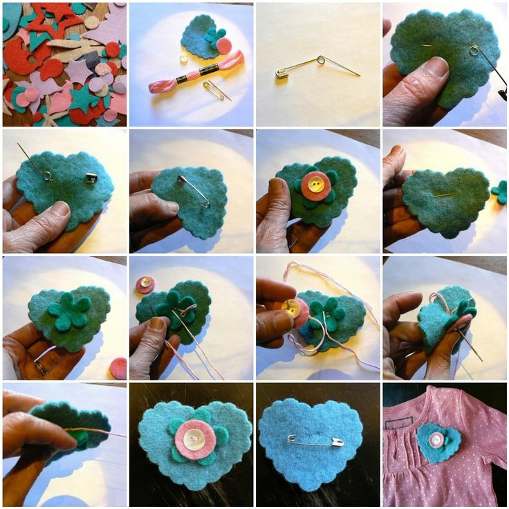 137 best images about DIY Felt Brooch on Pinterest ...