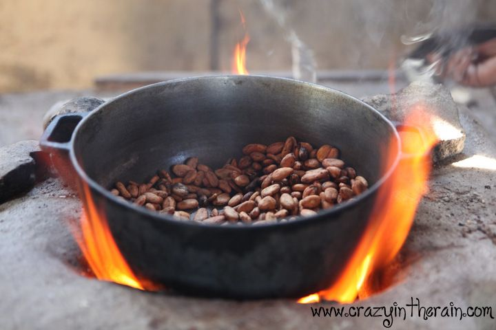 how to make chocolate from cacao beans