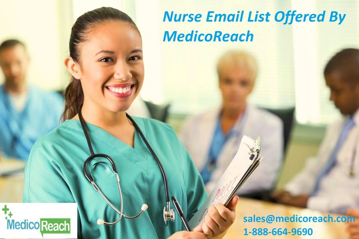 Nurse email list of medicoreach comprises high quality and