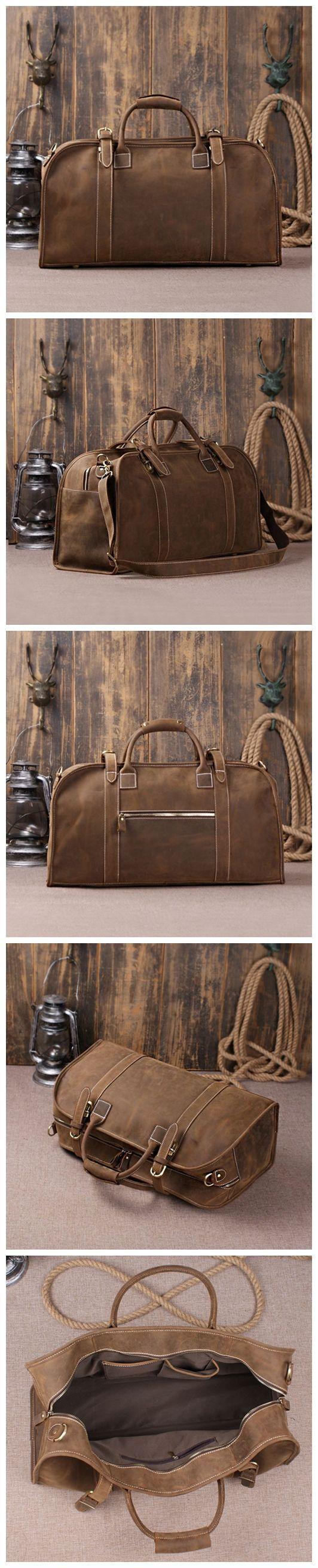 Genuine Cow Leather Briefcase, Backpack, Messenger Bag, Laptop Bag, Handbag