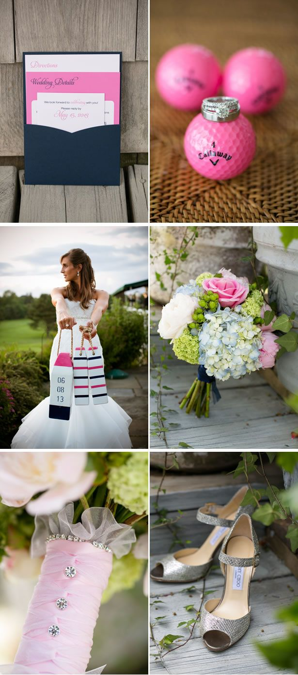 pink #Preppy Wedding ... Wedding ideas for brides, grooms, parents & planners ... https://itunes.apple.com/us/app/the-gold-wedding-planner/id498112599?ls=1=8 … plus how to organise an entire wedding ♥ The Gold Wedding Planner iPhone App ♥