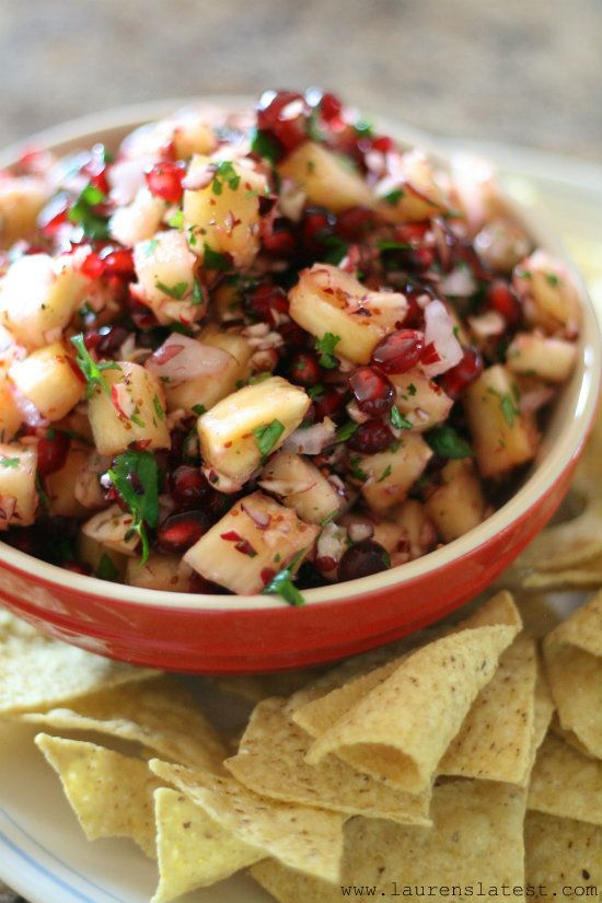 Holiday Cranberry Salsa from Lauren's Latest--ready in 10 minutes or less!