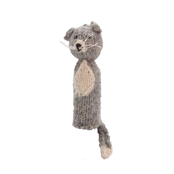いぬの指人形 | ihanaa−北欧とバルト三国の毛糸と 雑貨のセレクトショップ