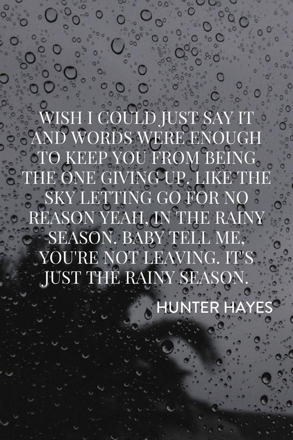 Lyric louisiana rain lyrics : 125 best Hunter Hayes images on Pinterest | Hunter hayes, Lyrics ...