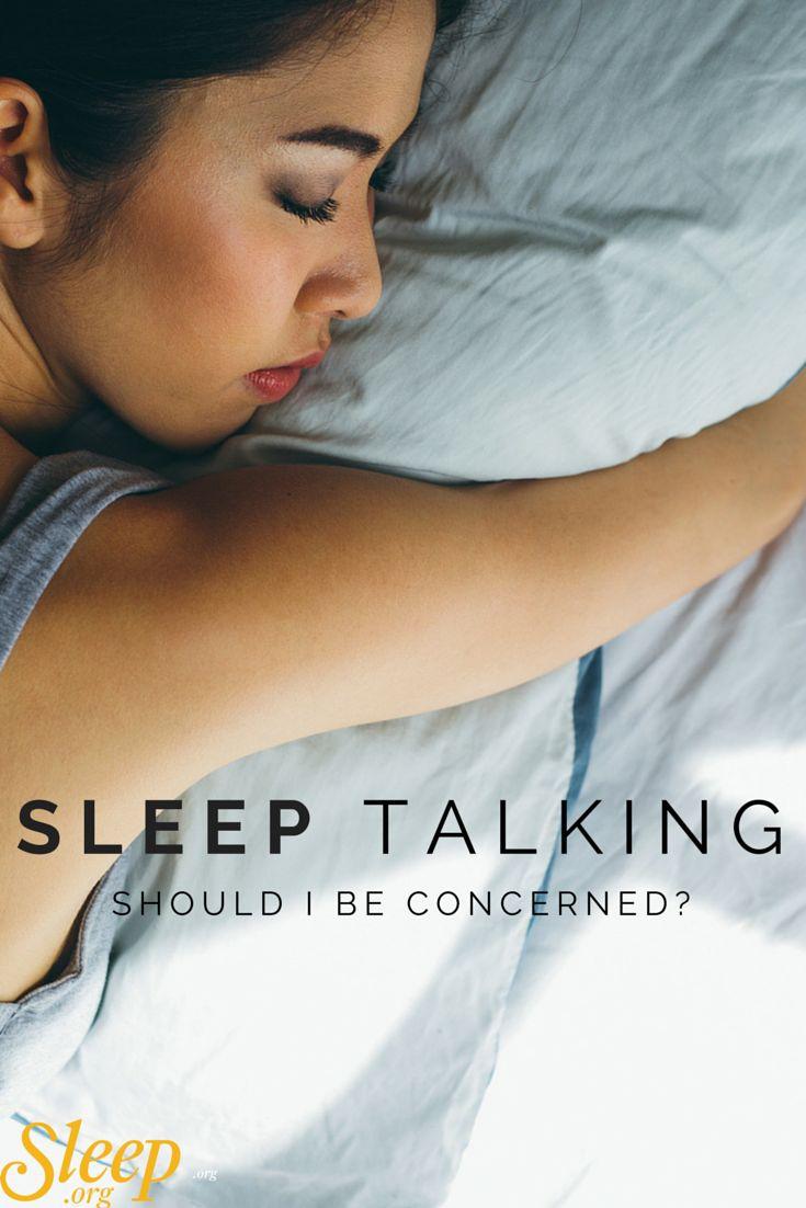 Learn the facts about sleep talking. | Sleep.org