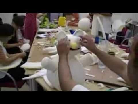 Cómo hacer un títere de gomaespuma