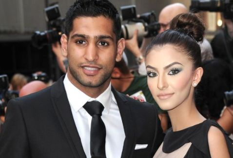 Professional boxer Amir Khan accuses his wife of cheating on him with Anthony Joshua