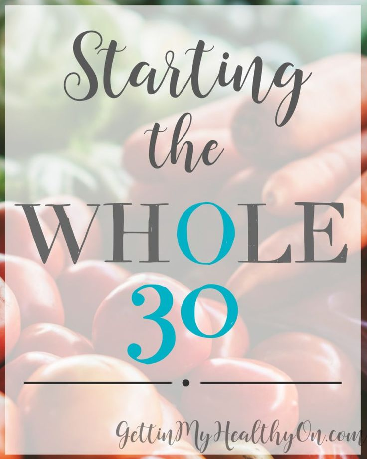 Read the rules of Whole 30 and how it can improve the way you think about/eat food!