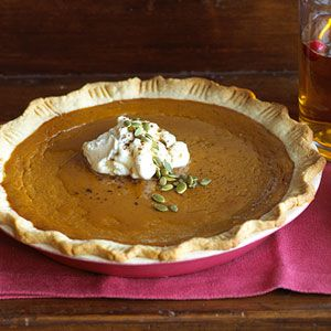 Cinnamon and maple blend smoothly with the flavors of a traditional pumpkin pie recipe.