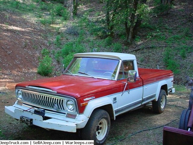 Jeep Truck >> For Sale 1973 Jeep J4000 at http://JeepTruck.com | Jeep Trucks For Sale | Pinterest | Jeeps ...