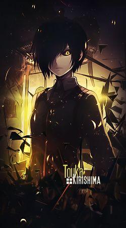 Touka Kirishima [Tokyo Ghoul] signature by misyzherself on DeviantArt