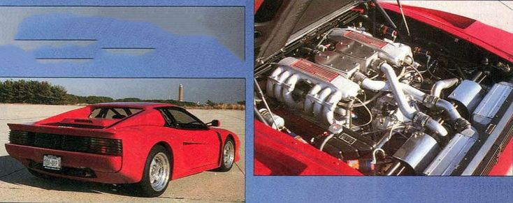 Ferrari Testarossa  Alternator Wiring Diagram  1995