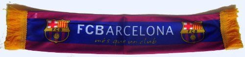 "Official Licensed GENUINE FC Barcelona Mini Window & Car Window Scarf - Licensed FC Barcelona Merchandise by F.C. Barcelona. $13.99. approx 16"" (40cm) x 4.5"" (12 cm). Licensed FC Barcelona Merchandise.. Barcelona Mini Scarf for window, Car Window & more. IMPORTANT CHRISTMAS SHIPPING NOTICE!! - if ordered AFTER Dec. 5th, we CANNOT guarantee arrival by Christmas Eve (although the closer it is to the 5th, chances are it will arrive) - Reason is that US postal mai..."
